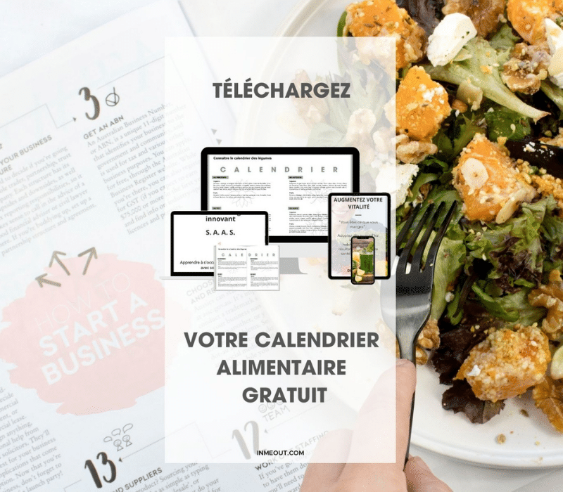 calendrier alimentaire inmeout